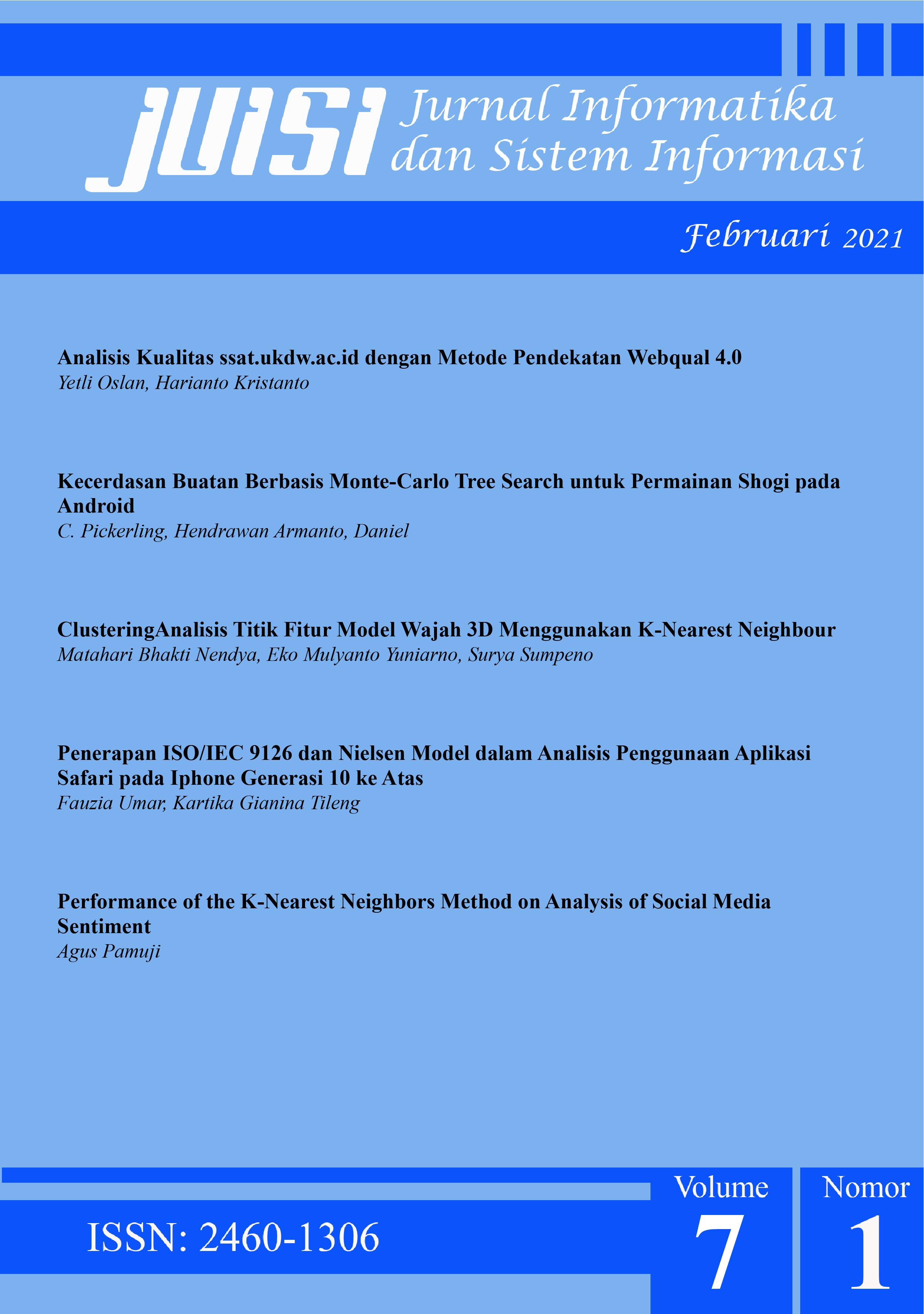 Jurnal Informatika dan Sistem Informasi JUISI